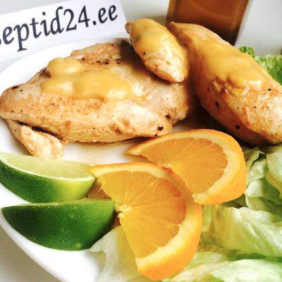 Курица с апельсинами и лаймом по-бразильски