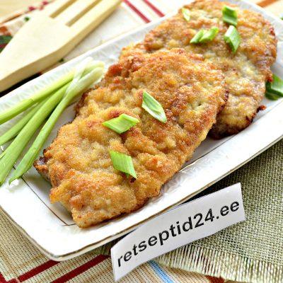 Отбивные из свинины - несложный рецепт мясного блюда