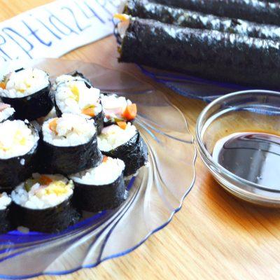 Вкуснейшие корейские роллы Кимбап