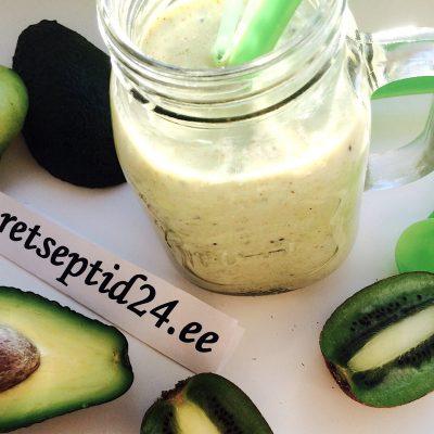 Смузи с авокадо, авокадовый смузи