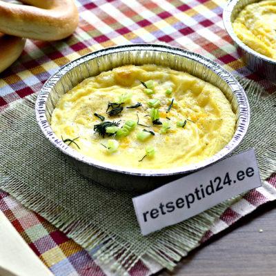 Omlett ahjus - populaarse hommikusöögi retsept