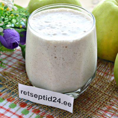 Õuna smuuti tervisliku toitumise austajatele