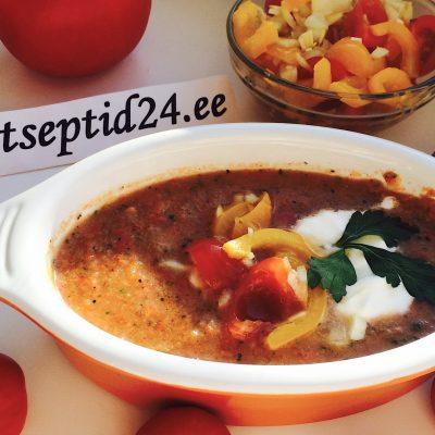 Külm tomatisupp