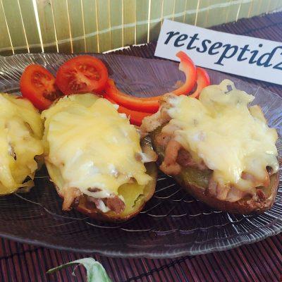 Täidetud kartulid